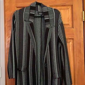 Zara Knit Duster Jacket